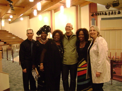 With Lynda Randle and other Music Artists